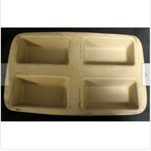 Pampered Chef Mini Loaf Pans Family Heritage Stone